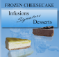 infusion frozen cheesecake